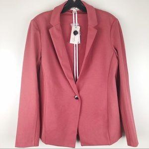 NEW Philosophy Knit Blazer Terra Rouge size 6 NWT
